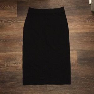 H&M Black Pencil Skirt (SMALL)